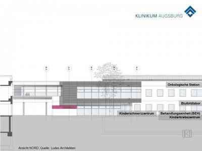 Nordansicht Konzeptstudie, Quelle: Ludes Architekten
